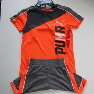 New with tag Boys' Puma Soccer suite